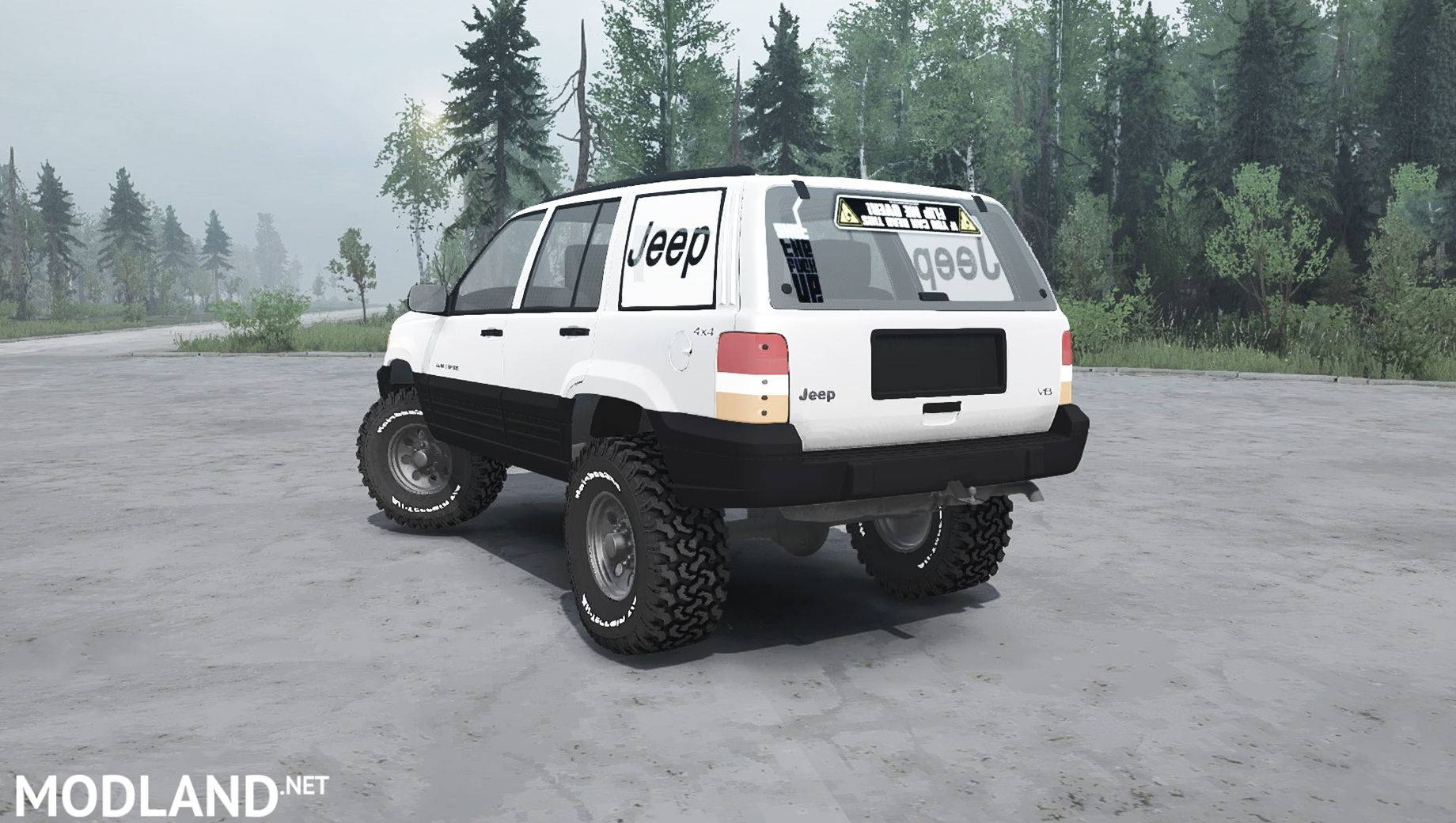 Jeep Grand Cherokee Tires >> Jeep Grand Cherokee (ZJ) - Spintires: MudRunner