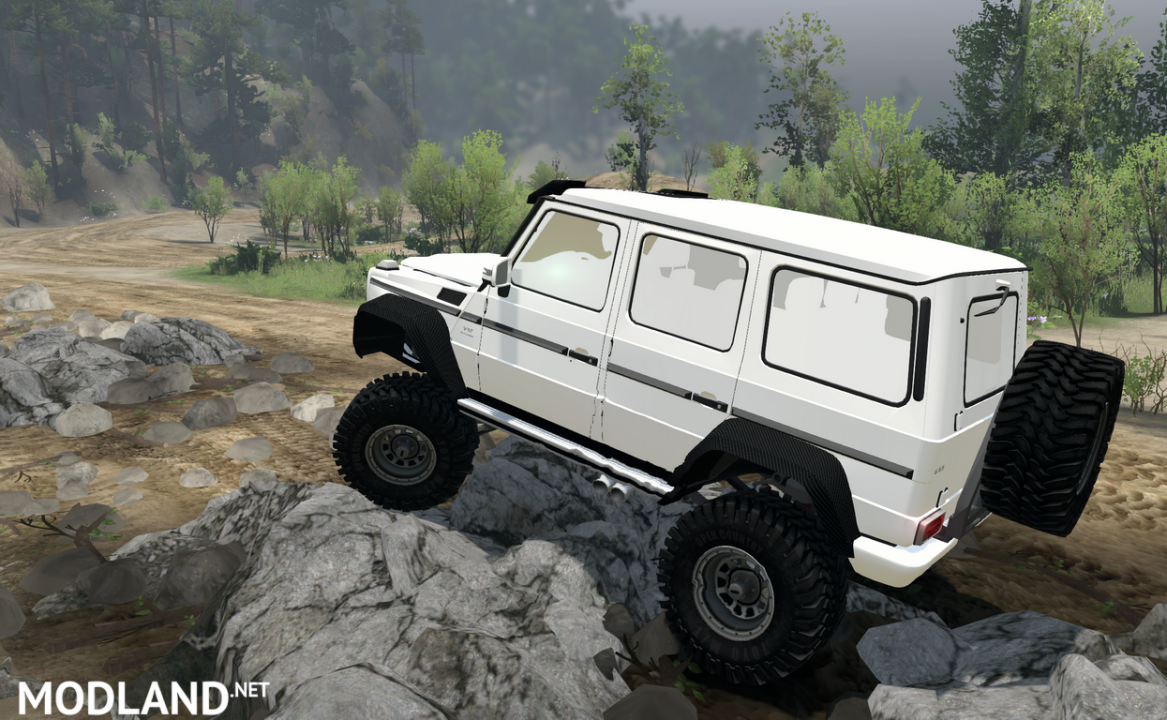 MERCEDES-BENZ G65 version 23.01.18 for SpinTires (v03.03.16)