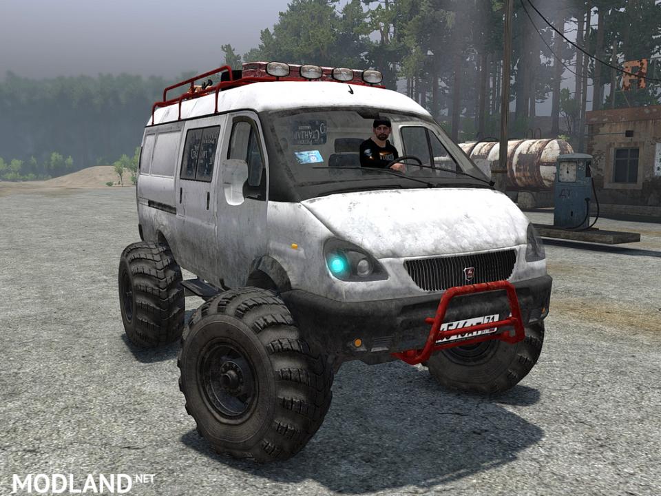 """GAZ-2705 """"Gazelle"""""""