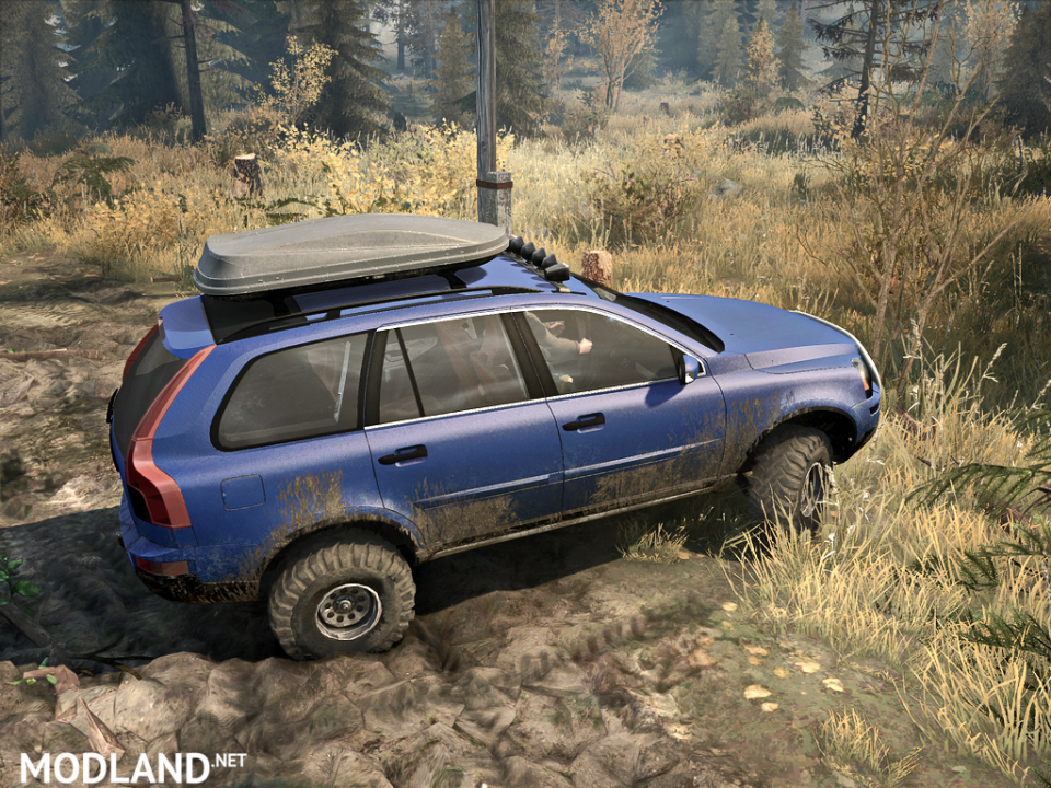 Volvo XC90 2009 version 1.0 for Spintires: Mudrunner