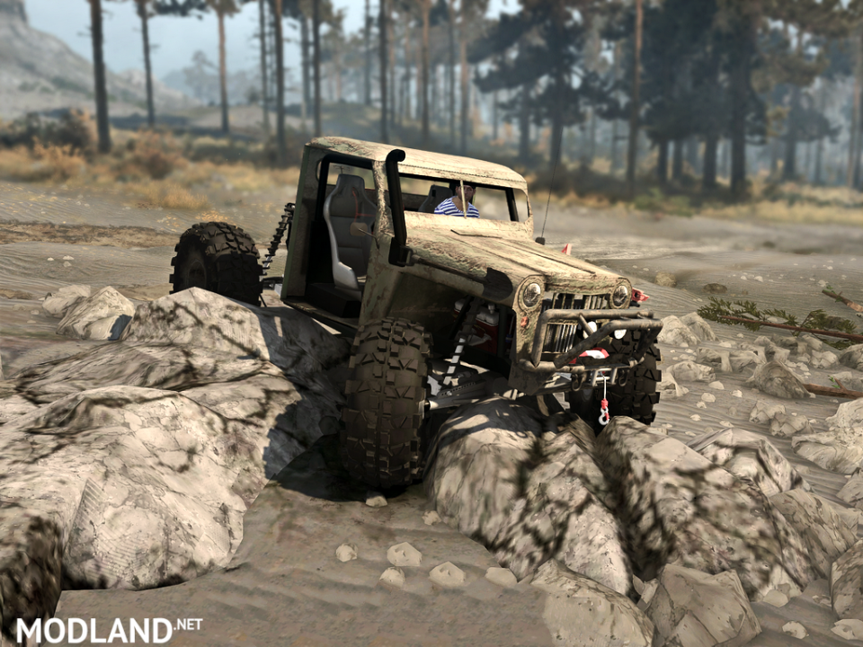 Jeep Truggy Pack version 0.1.3 (18.11.17) for Spintires: MudRunner (v07.11.17)