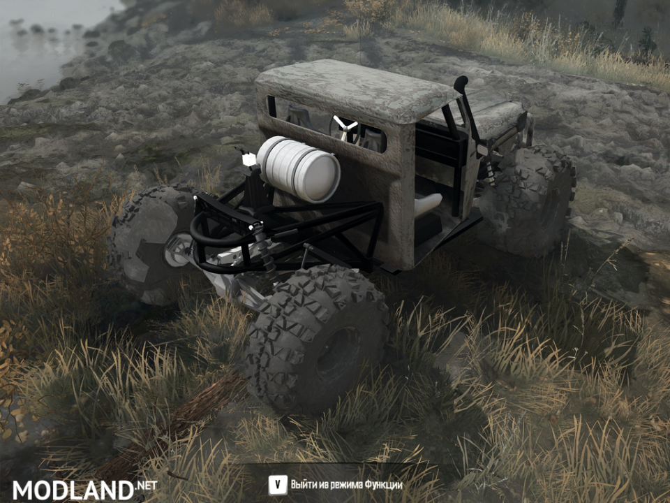 Jeep Truggy Pack for Spintires: Mudrunner