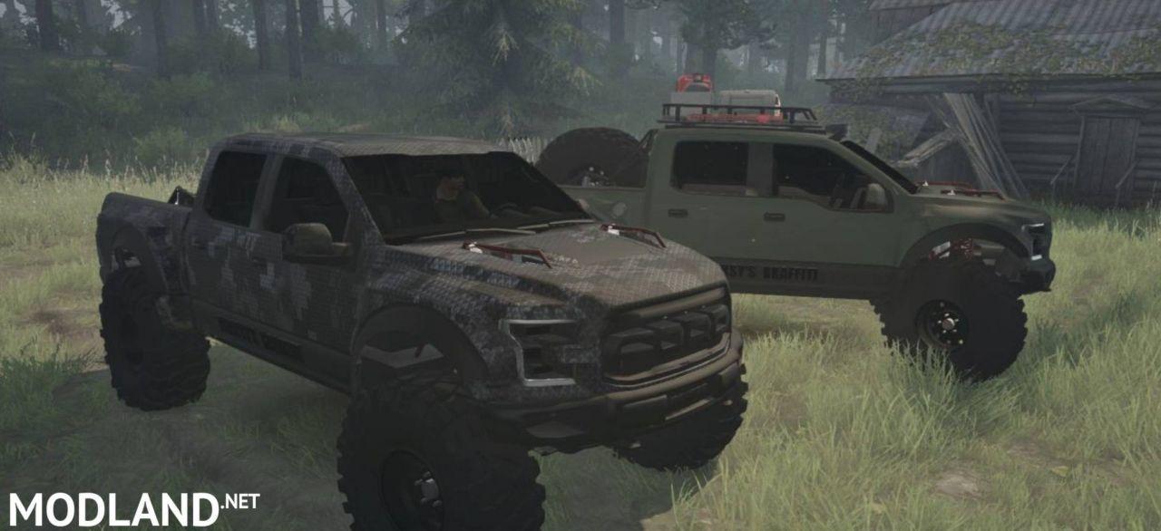 Ford Raptor v1.0 - Spintires: MudRunner