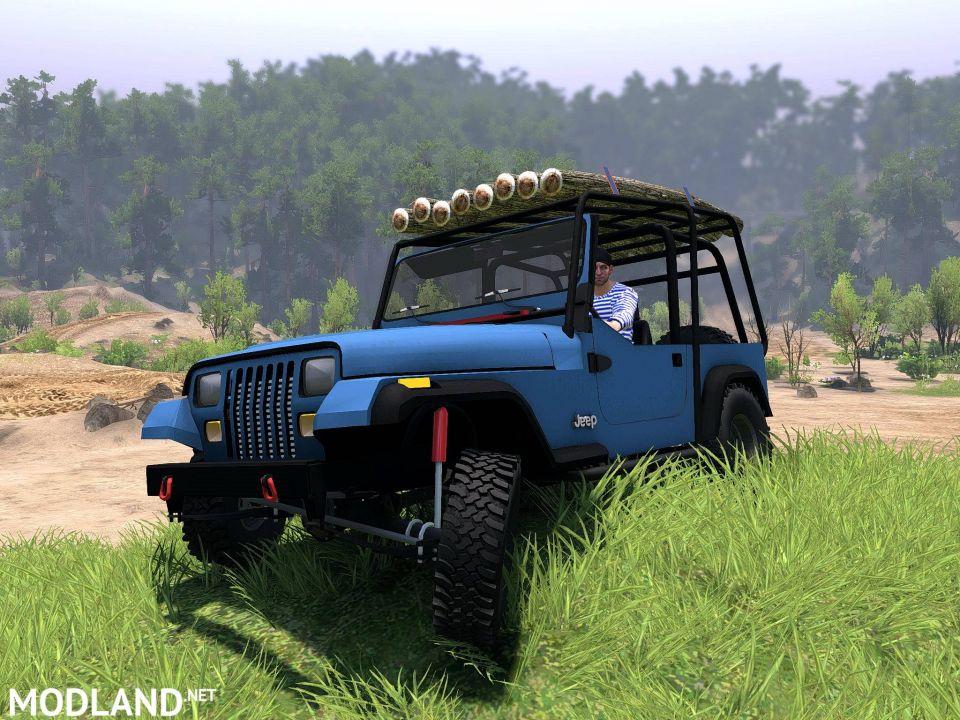 Jeep Wrangler YJ 1996