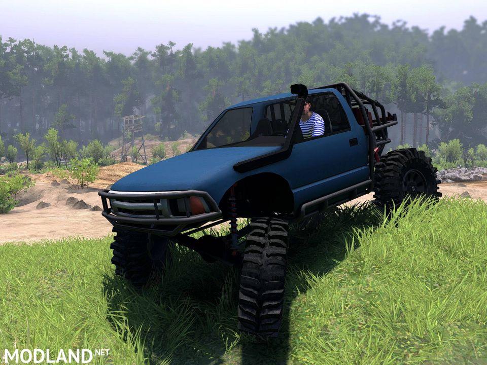 Chevy S10 Truggy 1996