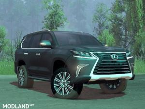 Lexus LX570 2018, 1 photo