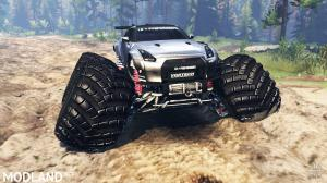 Nissan GT-R (R35) [monster truck], 1 photo