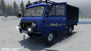 """UAZ-39094 """"Farmer"""" v 1.0 for (v03.03.16), 3 photo"""