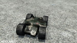 Reconnaissance Vehicle Drone Wheel v 1.0 for (v03.03.16), 1 photo