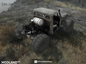 Jeep Truggy Pack for Spintires: Mudrunner, 1 photo