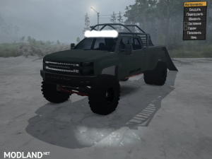 Chevrolet 3500 UTV Hauler 2016 for Spintires: MudRunner, 4 photo