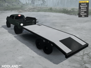 Chevrolet 3500 UTV Hauler 2016 for Spintires: MudRunner, 3 photo