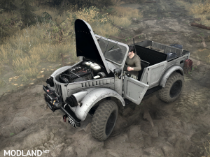 Gas-69A version 1.0 for Spintires: MudRunner, 1 photo