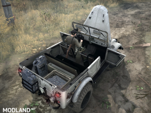 Gas-69A version 1.0 for Spintires: MudRunner, 5 photo