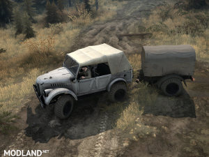 Gas-69A version 1.0 for Spintires: MudRunner, 3 photo