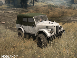 Gas-69A version 1.0 for Spintires: MudRunner, 2 photo