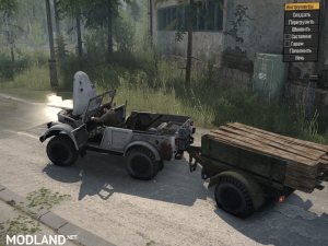 Gas-69A version 1.0 for Spintires: MudRunner, 4 photo