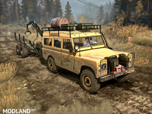 """Land Rover series III"" version 1.0 (18.11.17) for Spintires: MudRunner (v07.11.17), 1 photo"