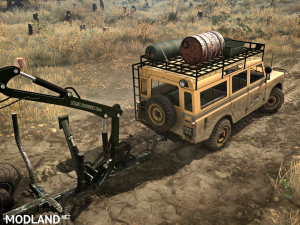 """Land Rover series III"" version 1.0 (18.11.17) for Spintires: MudRunner (v07.11.17), 2 photo"