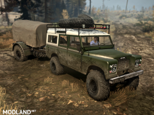"""Land Rover series III"" version 1.0 (18.11.17) for Spintires: MudRunner (v07.11.17), 4 photo"