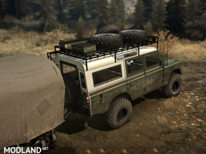 """Land Rover series III"" version 1.0 (18.11.17) for Spintires: MudRunner (v07.11.17), 6 photo"