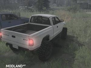 Dodge Dakota 97 v11.11.17 - Spintires: MudRunner , 2 photo