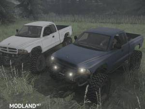 Dodge Dakota 97 v11.11.17 - Spintires: MudRunner , 1 photo