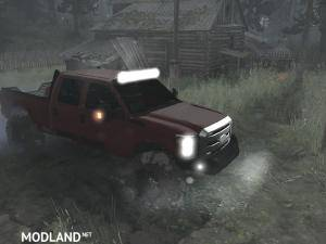 Ford F350 2012 v10.11.17 - Spintires: MudRunner, 1 photo