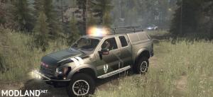 Ford Raptor F150 Pick-up v1.0 - Spintires: MudRunner
