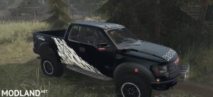 Ford Raptor F150 Pick-up v1.0 - Spintires: MudRunner , 4 photo