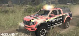 Ford Raptor F150 Pick-up v1.0 - Spintires: MudRunner , 3 photo