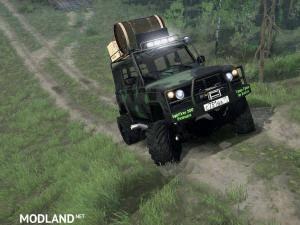 """UAZ-3172 """"Scout"""" v17.11.17 [UPDATE] - Spintires: MudRunner, 2 photo"""