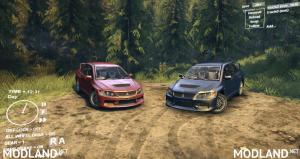 Mitsubishi  Lancer Evolution for SpinTires, 2 photo