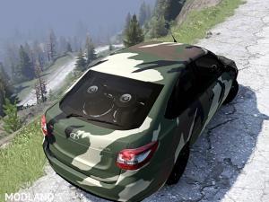 Lada Granta Liftback Coupe v2, 5 photo
