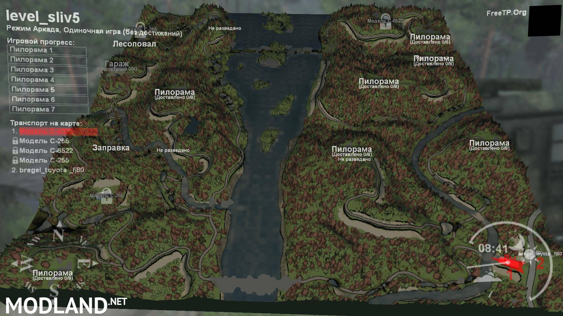 hill map spintires maps drain downloads