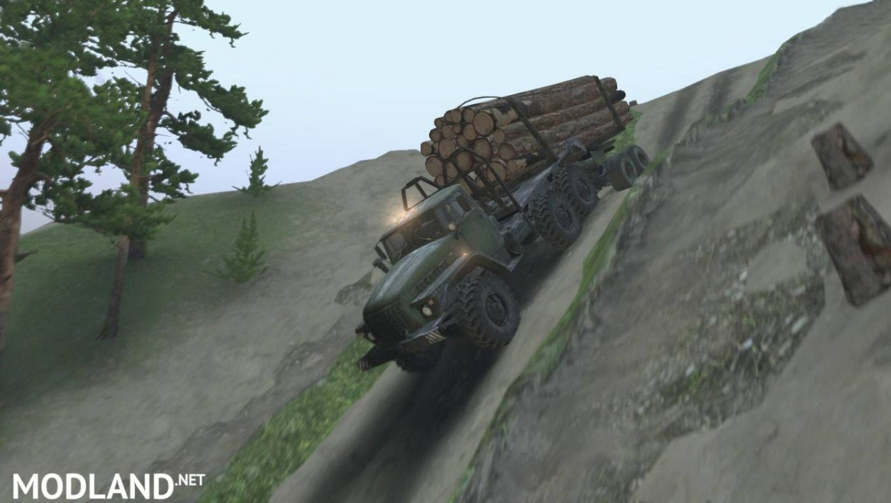 Level Río Chiquito for Spintires