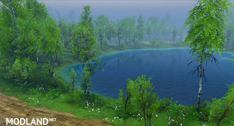 """Map """"Forest Lake svk"""""""