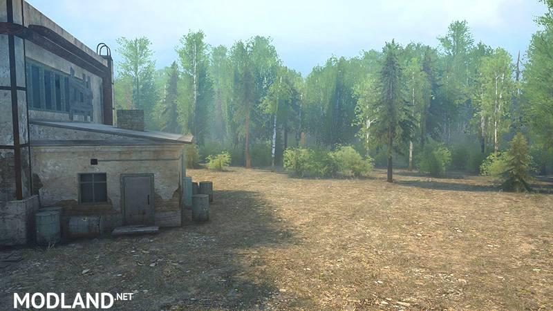 Forest Work Map – Spintires: MudRunner