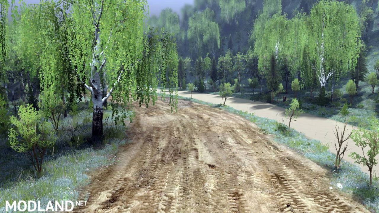 """Map """"Choice"""" version Final for SpinTires (v03.03.16)"""