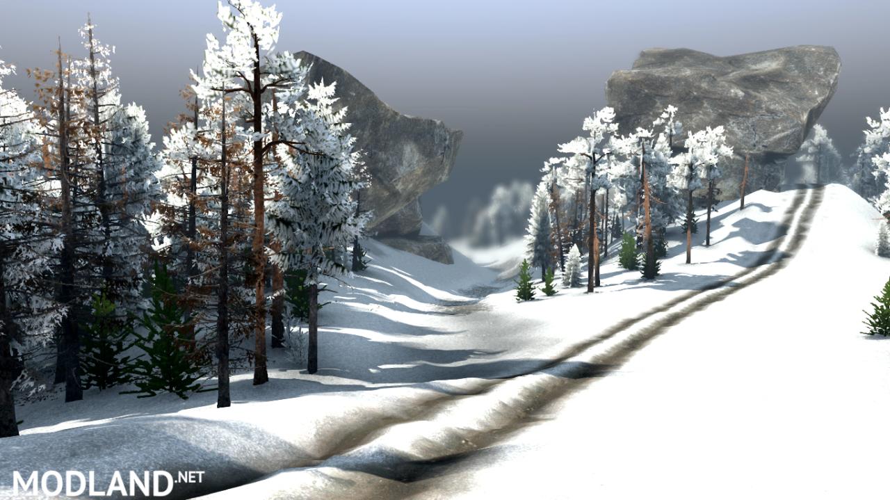 """Map """"Valley: Winter"""" v 1.0 for (v03.03.16)"""
