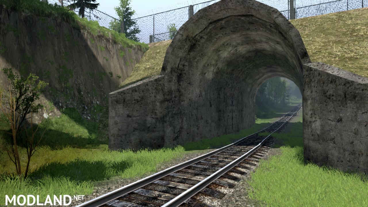 """Map """"Working with locomotives"""" v 0.1 for (v03.03.16)"""