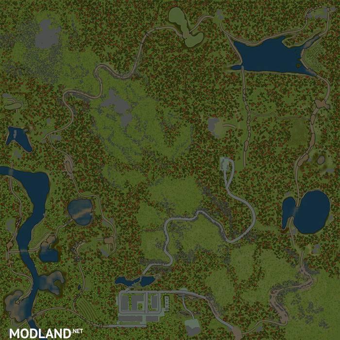 Dangerous Pass Map v1.0 - Spintires: MudRunner