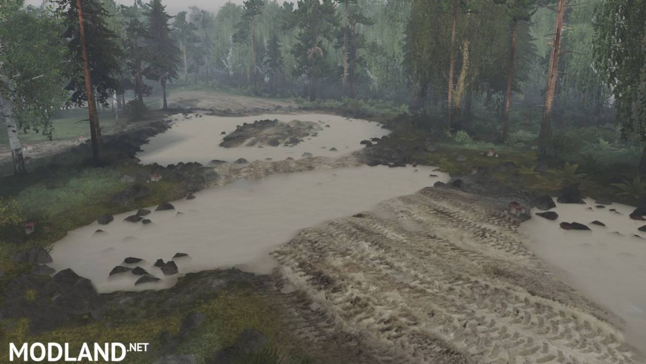 Level Puddles for Spintires