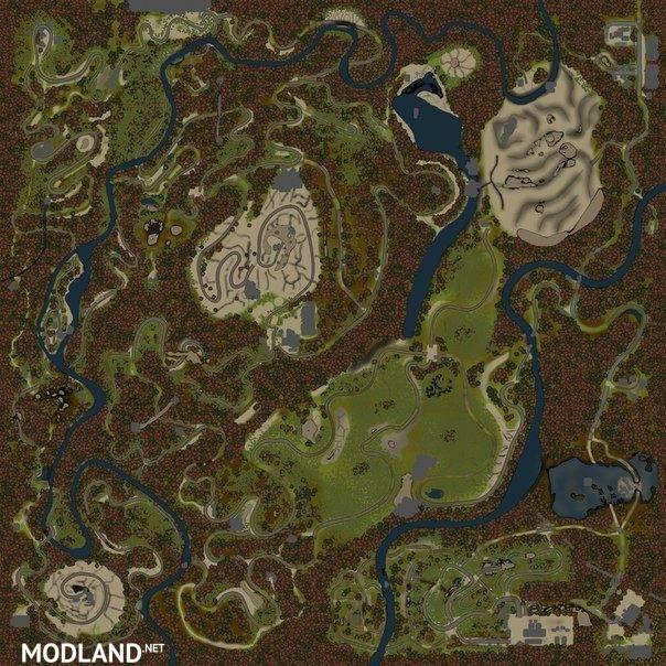 Abandone Mines Map
