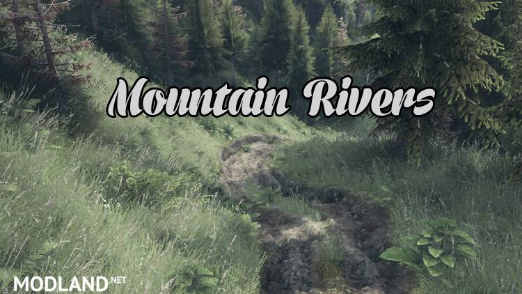 Mountain Rivers Map