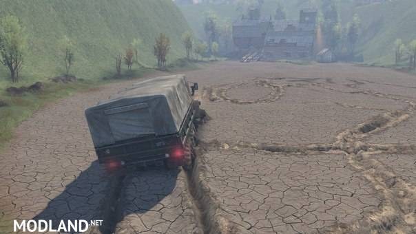 Ural Mountains Map – SpinTires 23.10.15 & 8.11.15