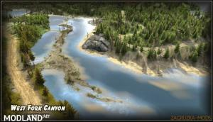West Fork Canyon Map v1.0 (v03.03.16) for Spin Tires 2014, 1 photo