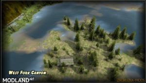 West Fork Canyon Map v1.0 (v03.03.16) for Spin Tires 2014, 2 photo