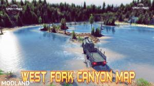 West Fork Canyon Map v1.0 (v03.03.16) for Spin Tires 2014, 3 photo