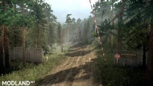 "Map ""Siberian Forest 3: Road to Lake Baikal"" version 1.0 for Spintires: MudRunner (v07.11.17), 1 photo"
